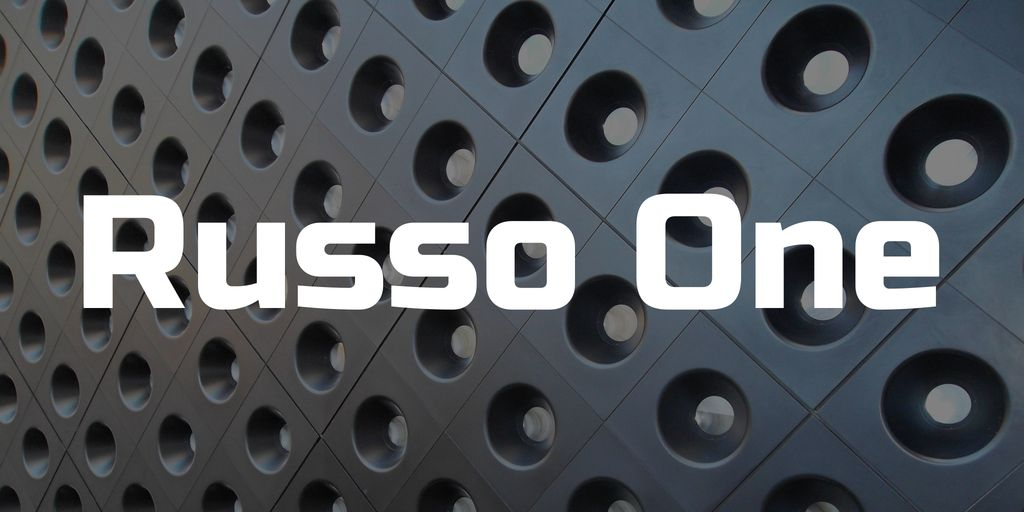 russo-one-font