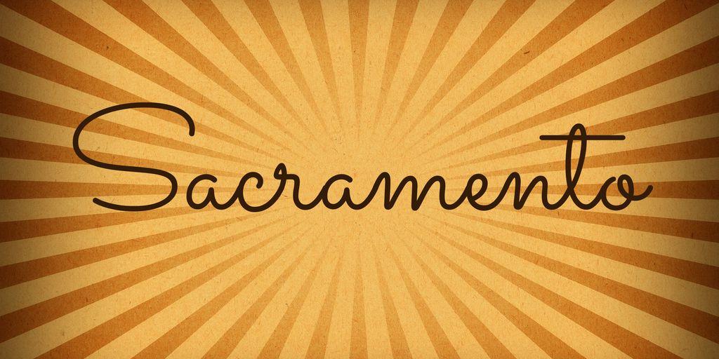 sacramento-font