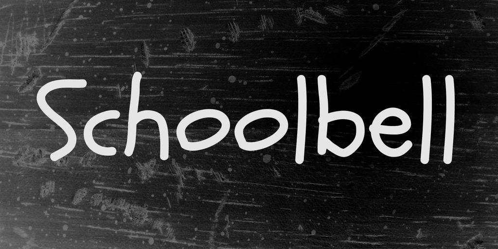 schoolbell-font