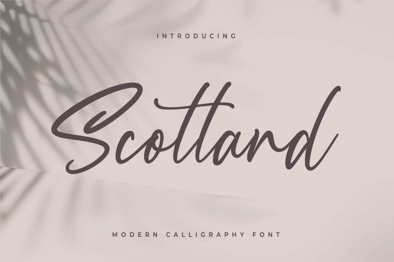 scotland-calligraphy-font