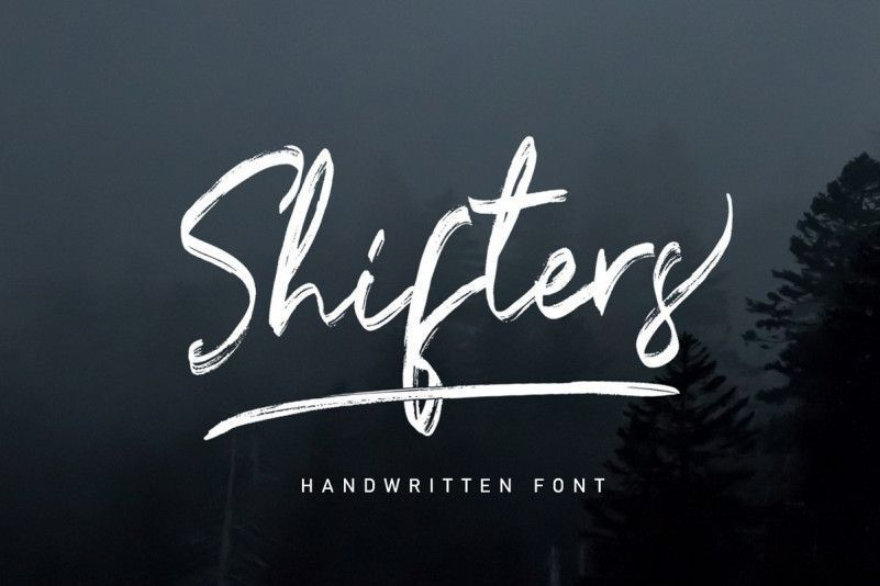 shifters-font