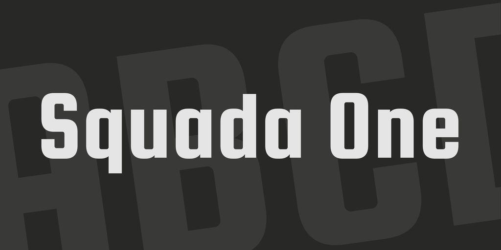 squada-one-font