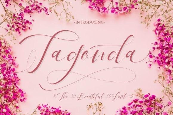 Tagonda Calligraphy Font