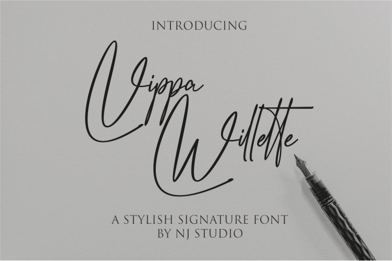 vippa-willette-font