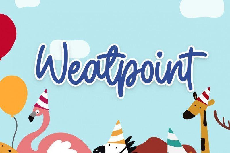 weatpoint-font