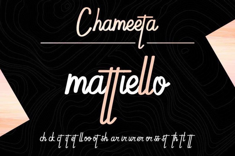 Chameeta-Font-2