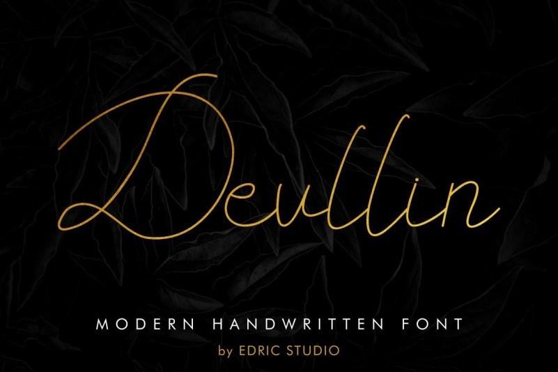 Devllin-Handwritting-Font