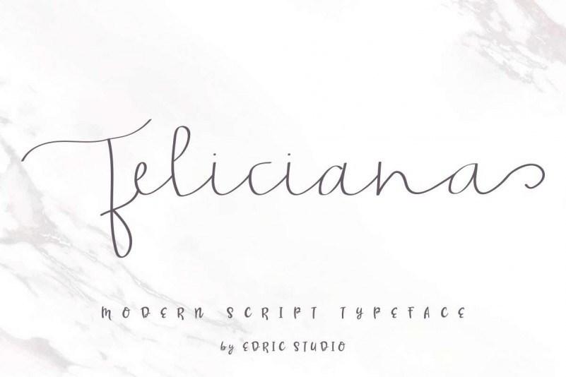 Feliciana-Handwritten-Font