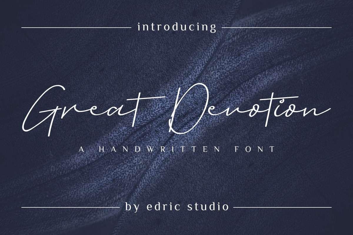 Great-Devotion-Font