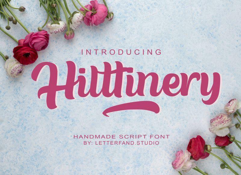 Hilttinery-Script-Font