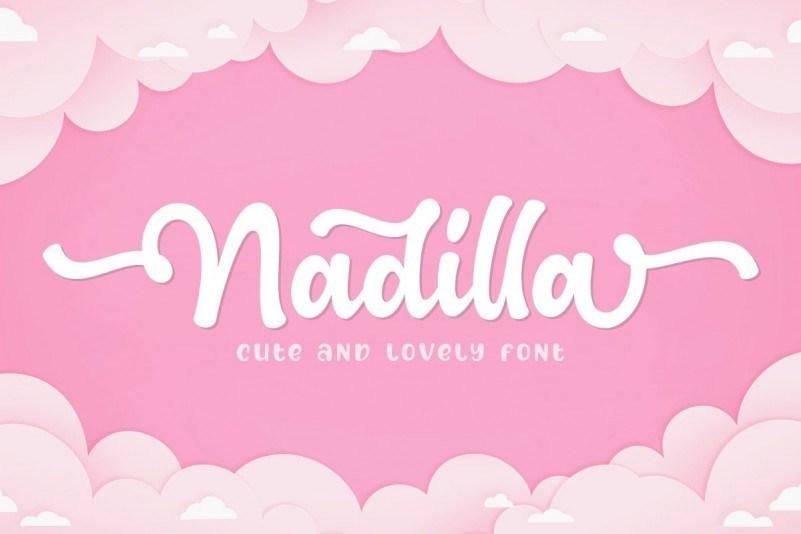 Nadilla-Font