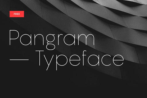 Pangram Sans Font Family