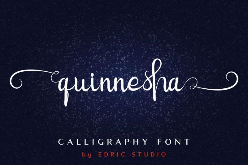 Quinnesha-Script-Font