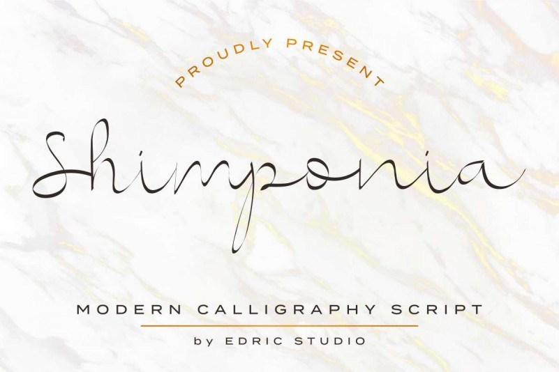Shimponia-Calligraphy-Font