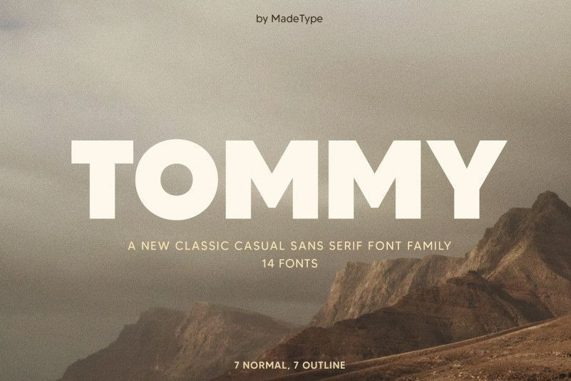 Tommy-Font-Family