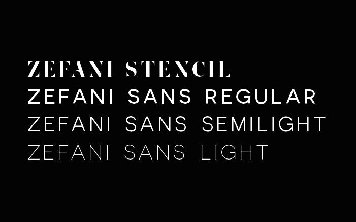 Zefani Font Free-2
