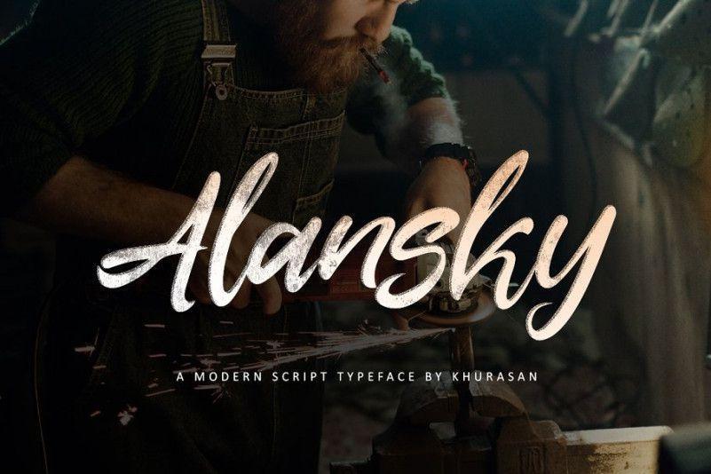 alansky-font