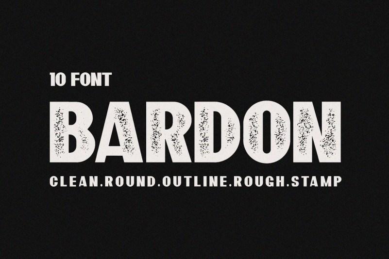 bardon-font-family