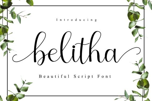Belitha Font