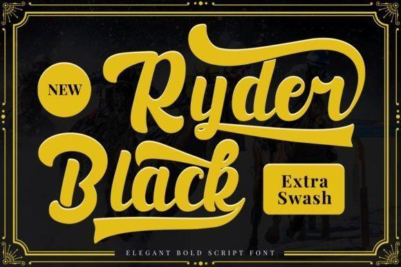 black-ryder-font