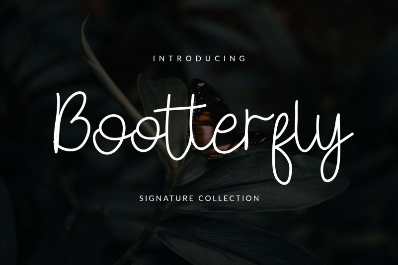 bootterfly-font