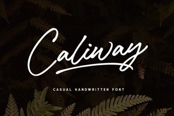 caliway-font