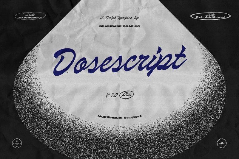 dosescript-font