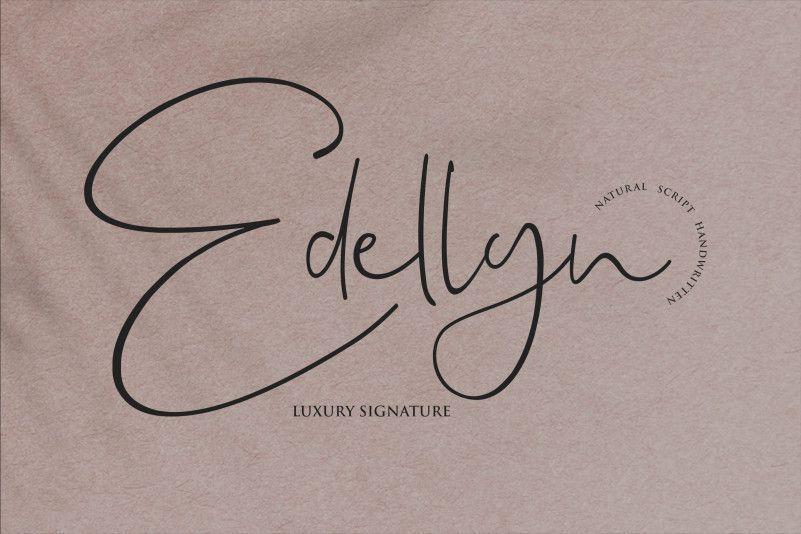edellyn-font