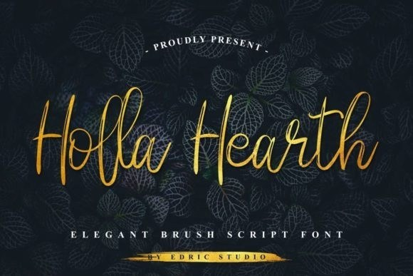 Holla Hearth Font