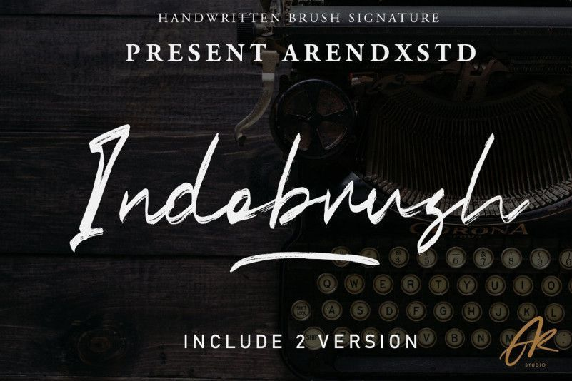 indobrush-font