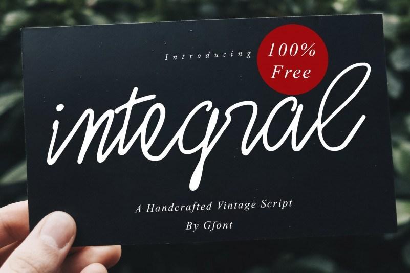 integral-font
