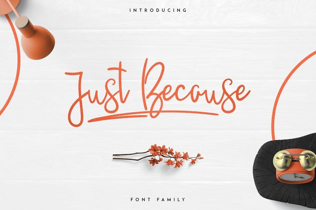 justbecause-font