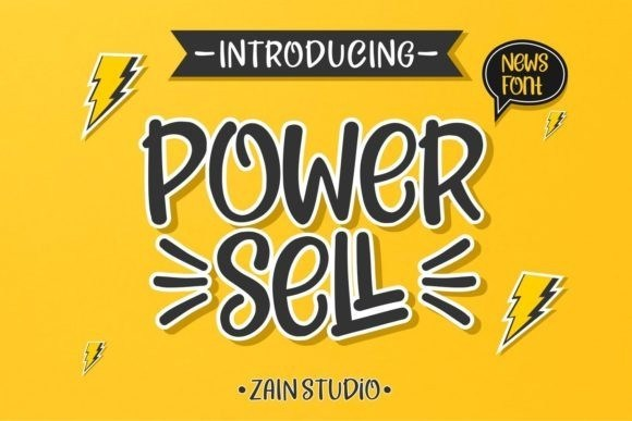 power-sell-font