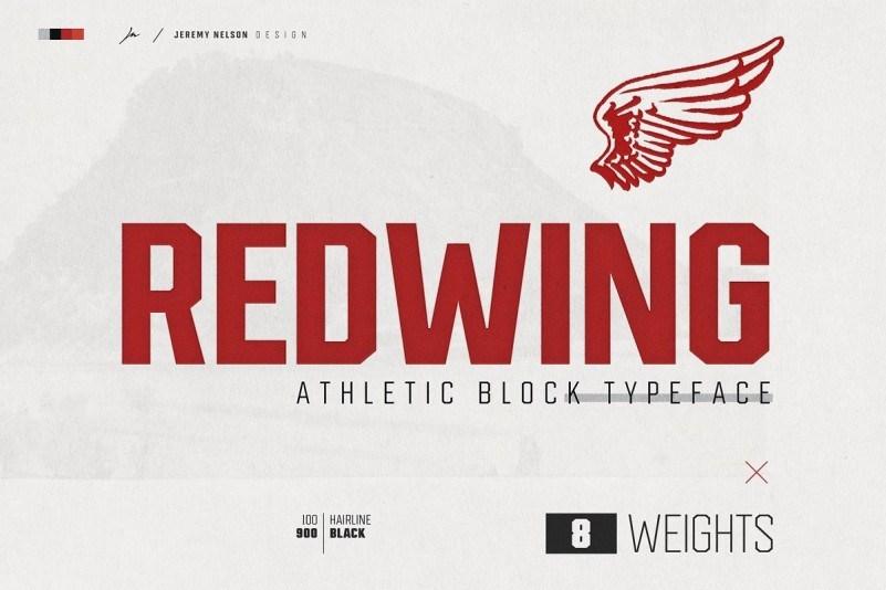 redwing-font