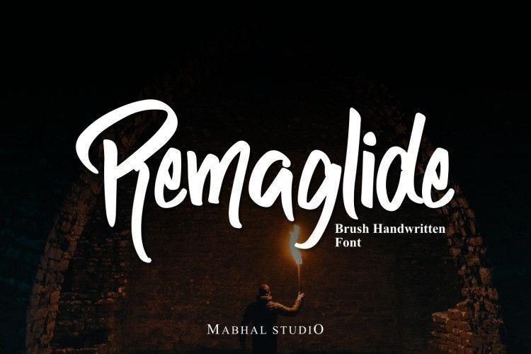 remaglide-font