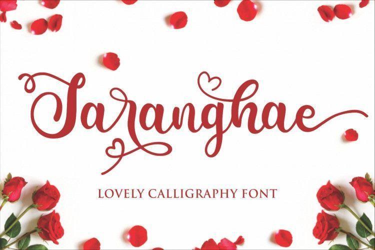 saranghae-font