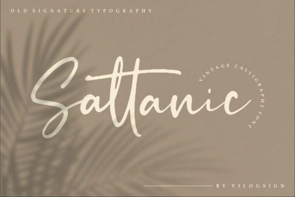 Sattanic Font