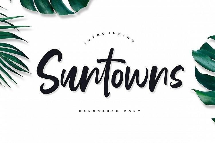 suntowns-script-font
