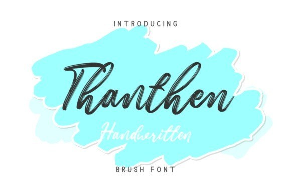 thanthen-brush-font