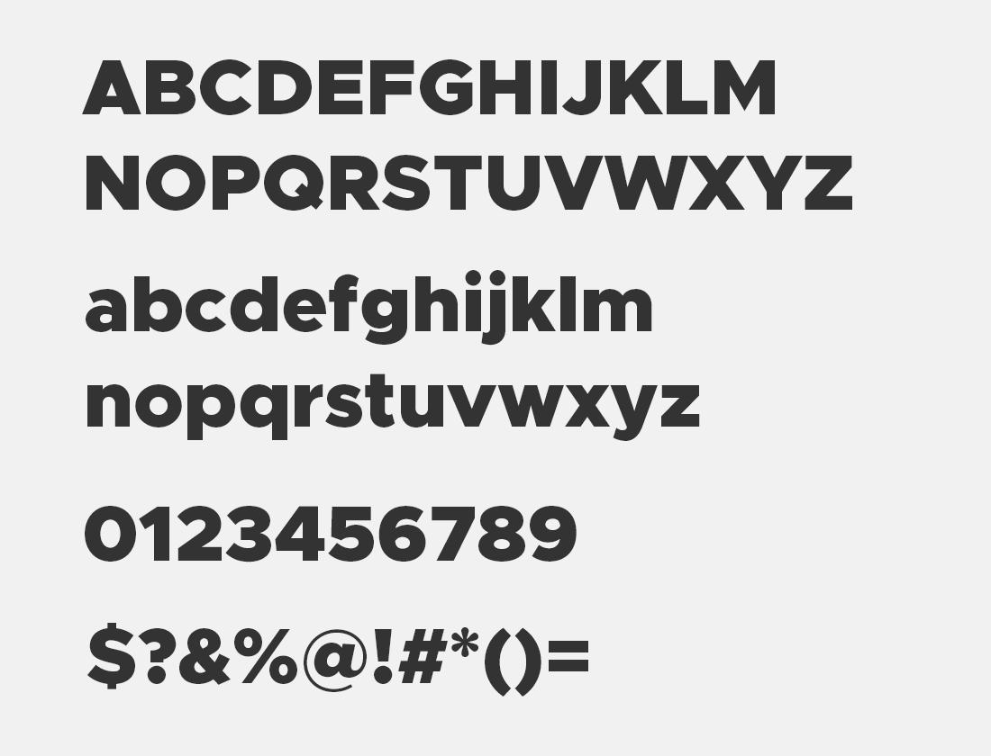 1 Metropolis-Black font