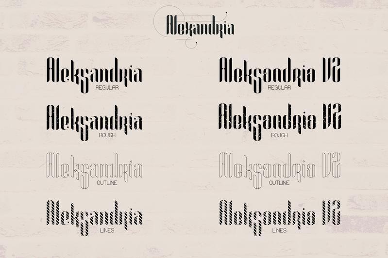Alexandria-Font-Family-2