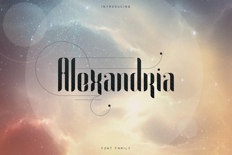 Alexandria-Font-Family