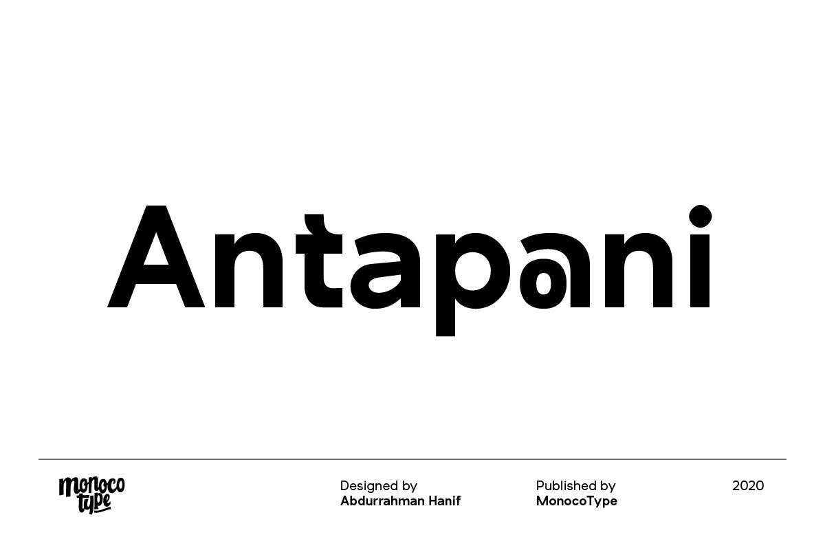 Antapani-Sans-Font-Family