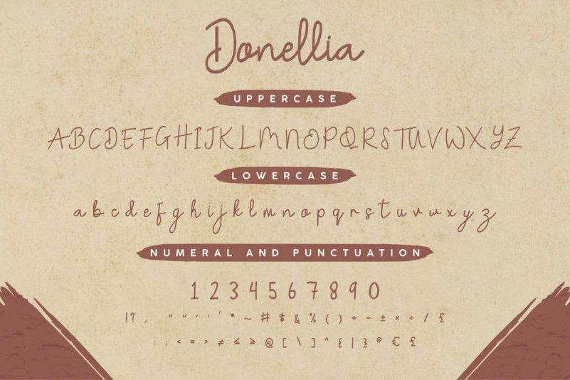 Donellia-Handwriting-Font-2