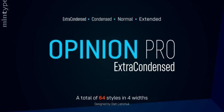 Opinion-Pro-Font-Family