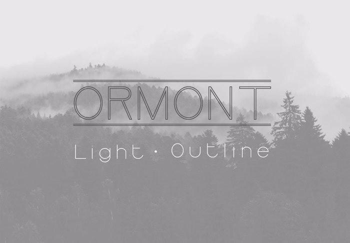 Ormont-Font