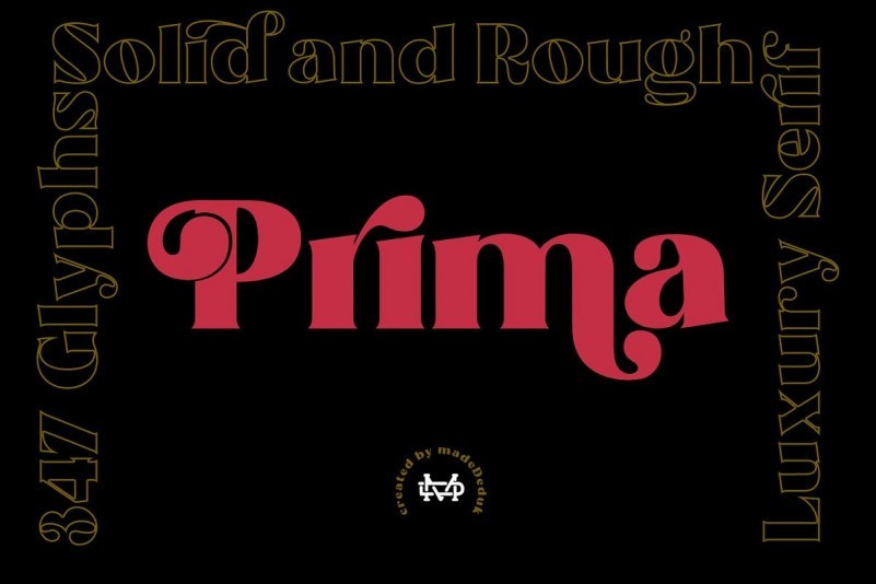 Prima-Luxury-Typeface
