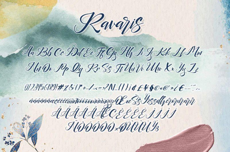 Ravaris-Script-Font-2