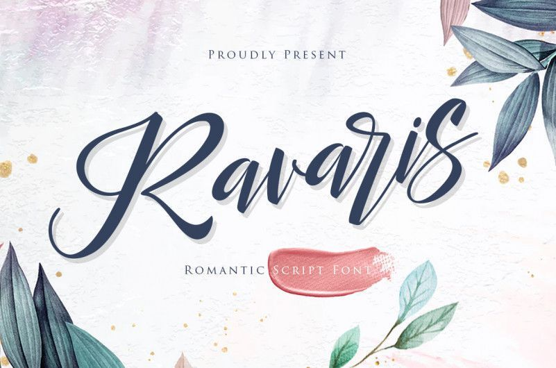 Ravaris-Script-Font