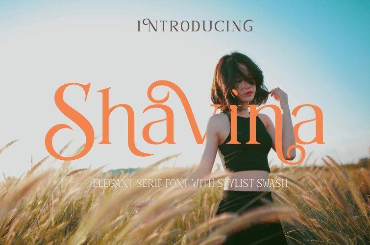 Shavina-Serif-Font